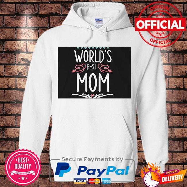World's best mom s Hoodie white