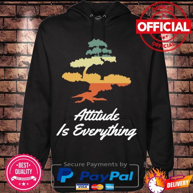 Attitude is everything bonsai tree japanese plant vintage s Hoodie black