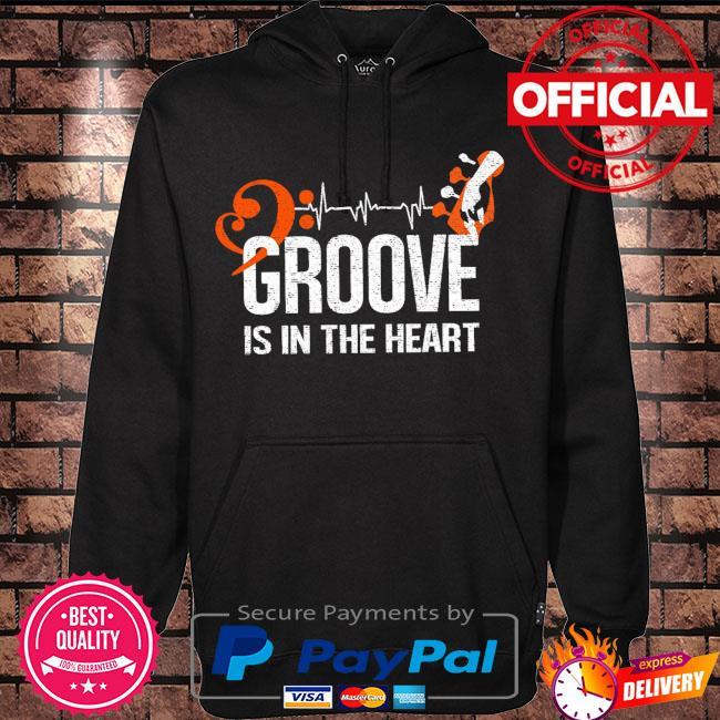 Groove is in the heart s Hoodie black