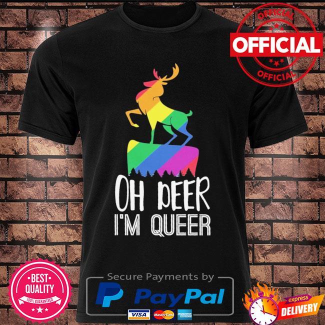 LGBT oh deer Im queer shirt
