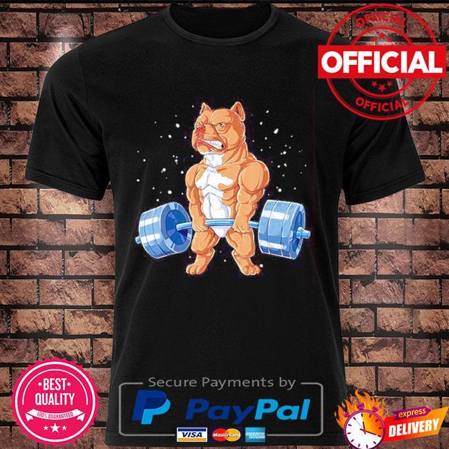 Pitbull gym shirt
