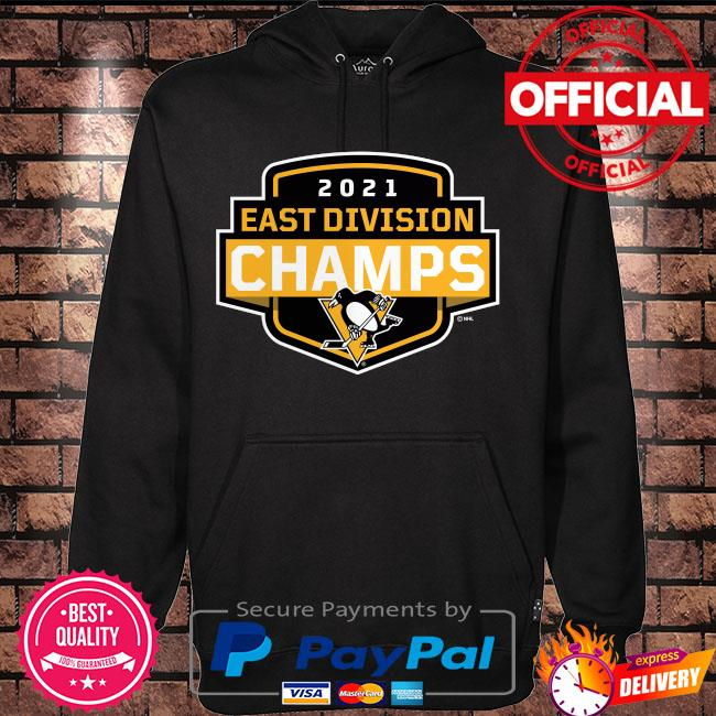 Pittsburgh Penguins 2021 East Division Champions Coming At You s Hoodie black