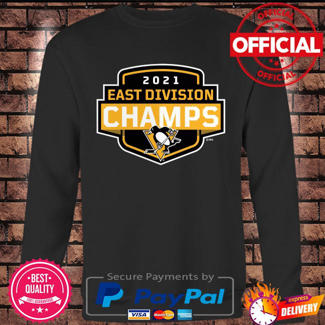 Pittsburgh Penguins 2021 East Division Champions Coming At You s Long sleeve black