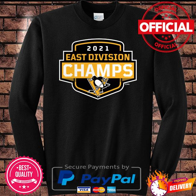 Pittsburgh Penguins 2021 East Division Champions Coming At You s Sweater black