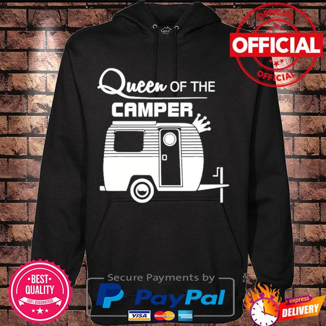 Queen of the camper camping s Hoodie black