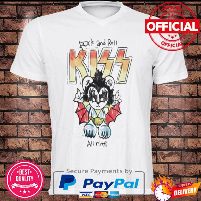 Rock and Roll Kiss all time shirt