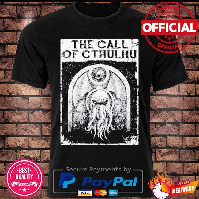 The call of cthulhu shirt