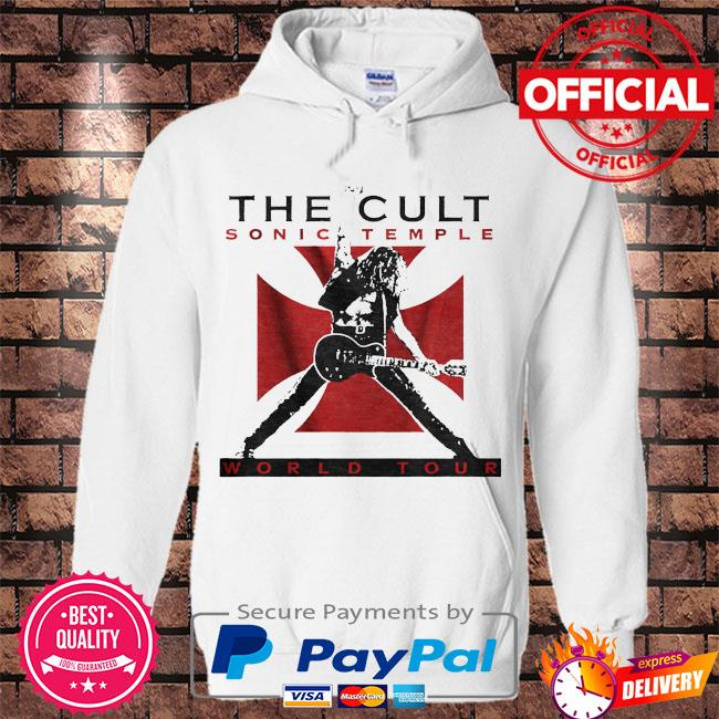 The cult sonic temple world tour s Hoodie white