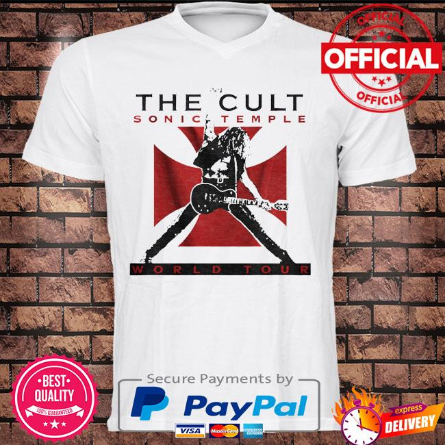 The cult sonic temple world tour shirt