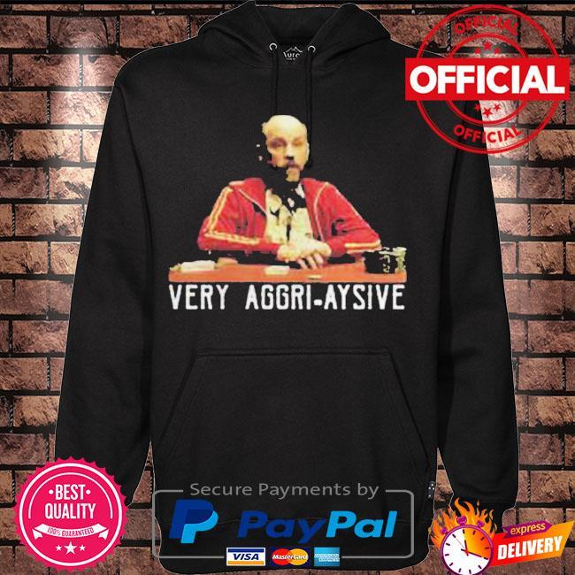 Very aggri aysive s Hoodie black
