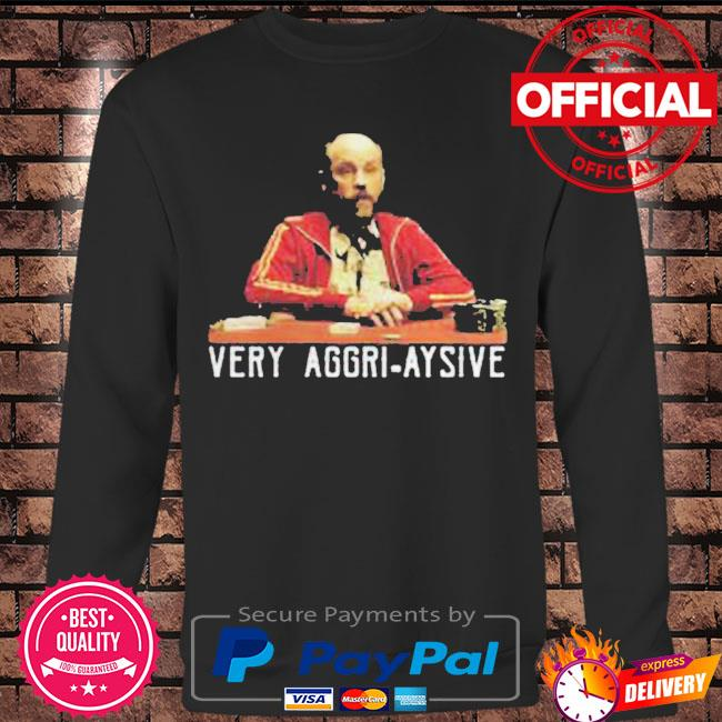 Very aggri aysive s Long sleeve black