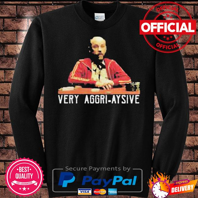 Very aggri aysive s Sweater black