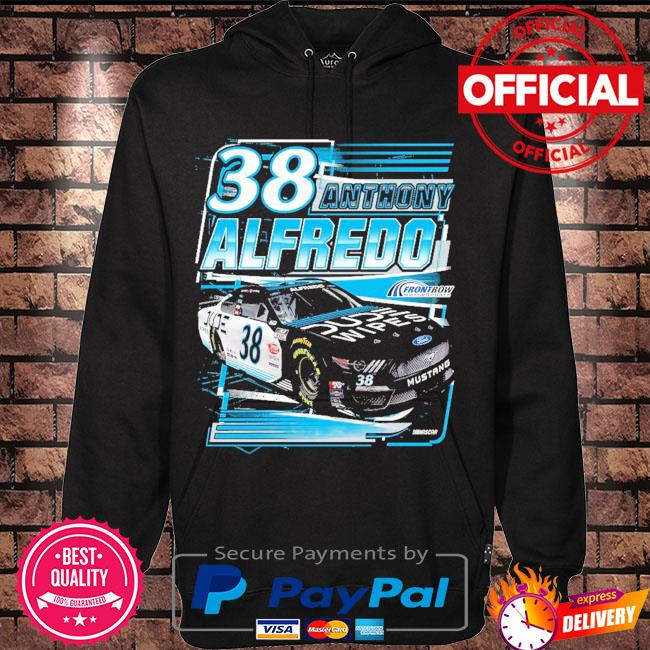 Anthony Alfredo Checkered Flag 1-Spot Dude Wipes s Hoodie black