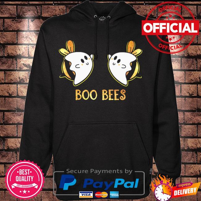 Boo bees halloween light cute s Hoodie black