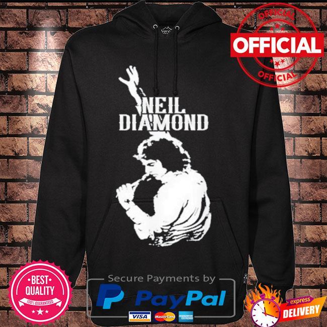 Neil diamonds vaporware s Hoodie black