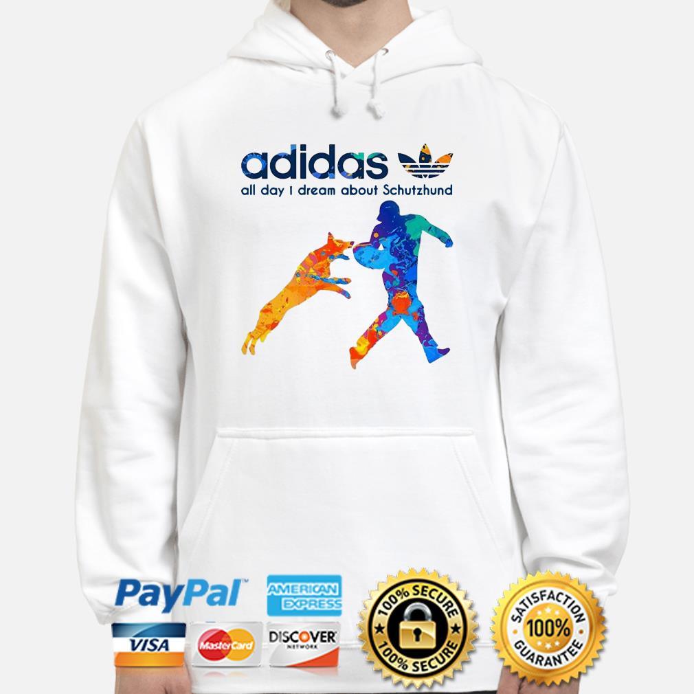 Adidas All Day Dream About Schutzhund hoodie