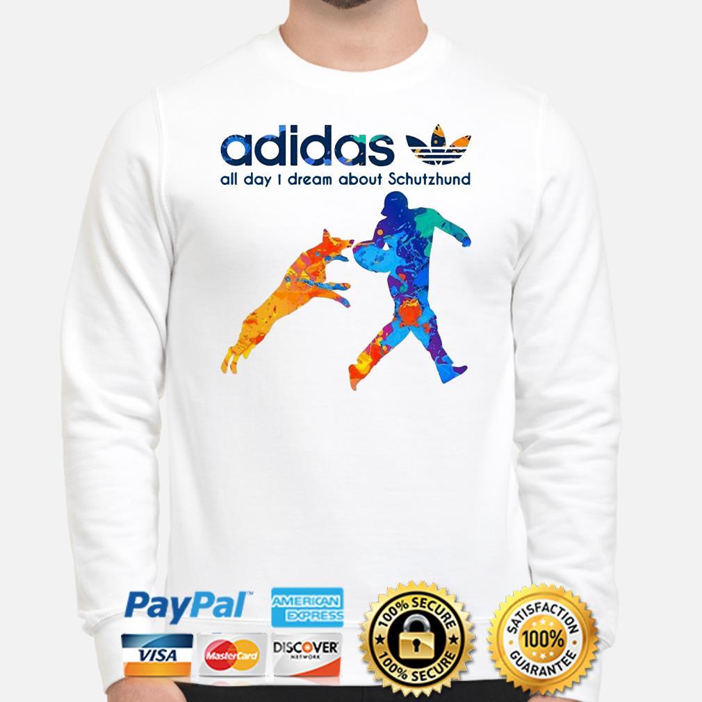 Adidas All Day Dream About Schutzhund sweater