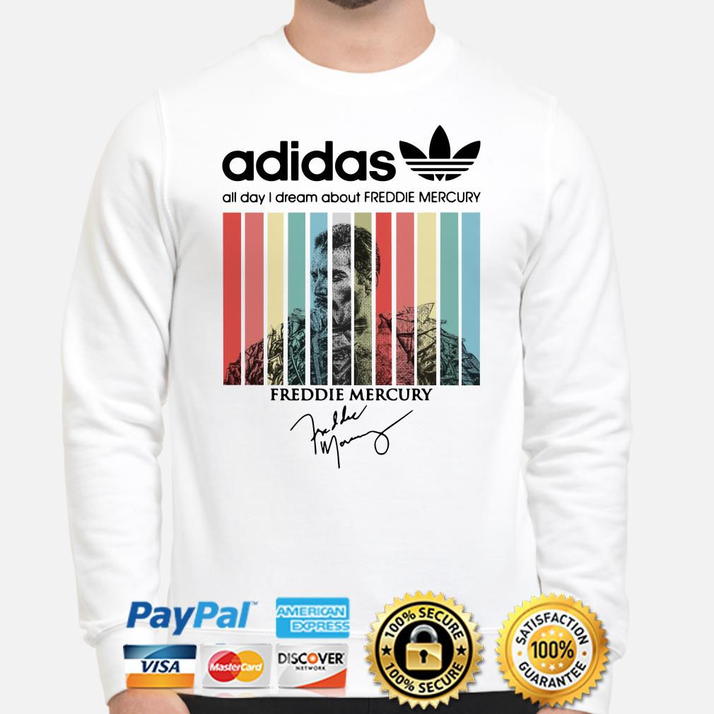 Adidas All Day I Dream About Freddie Mercury Vintage sweater