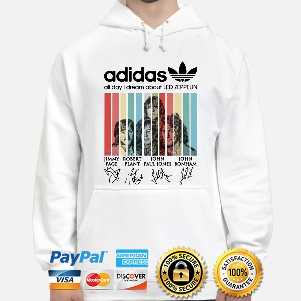 Adidas All Day I Dream About Led Zeppelin Vintage hoodie