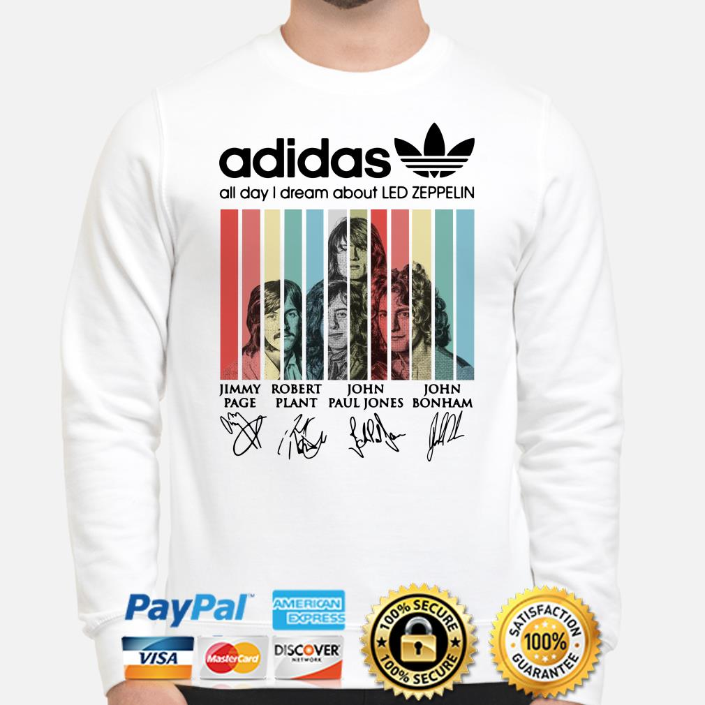 Adidas All Day I Dream About Led Zeppelin Vintage sweater