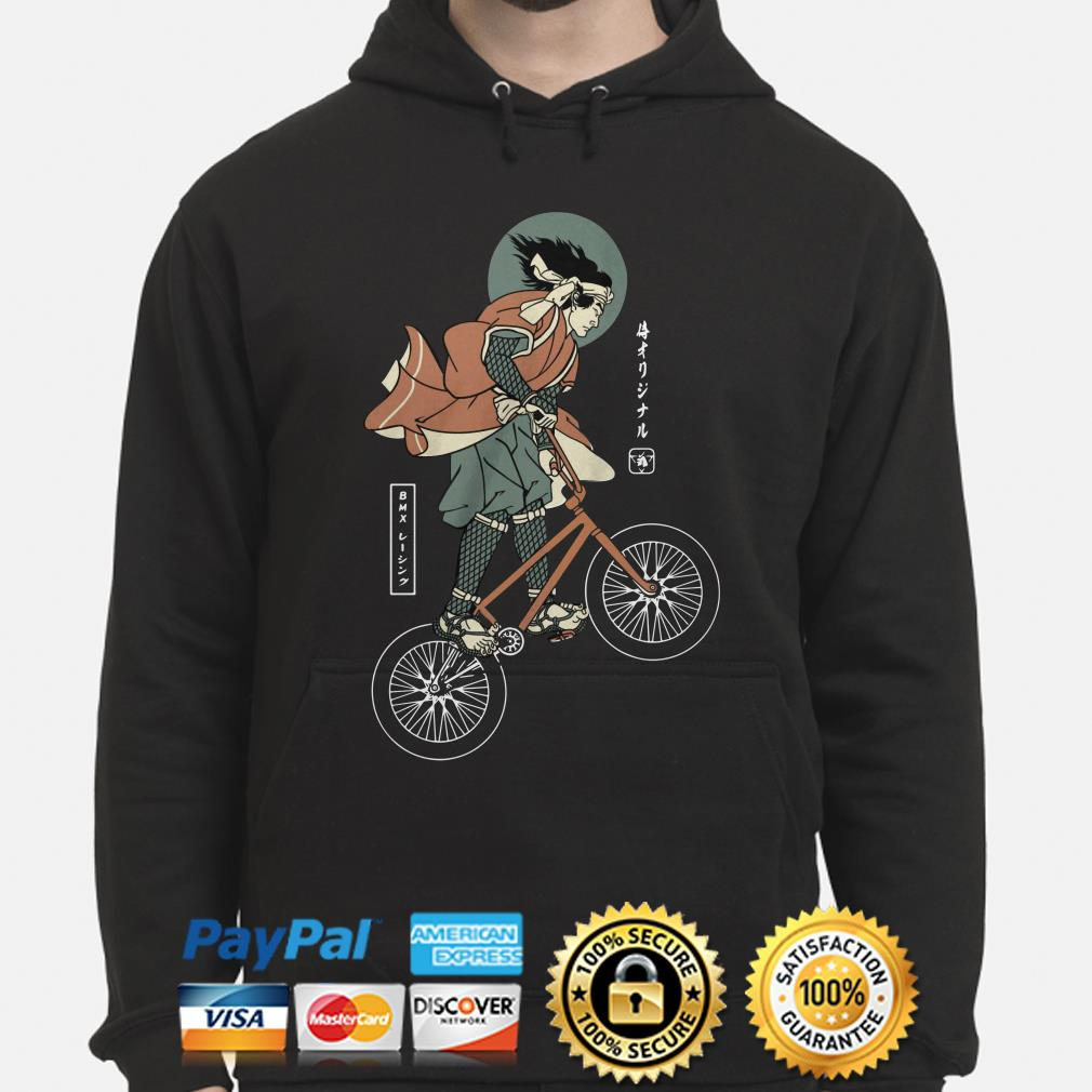 BMX bike Samurai hoodie