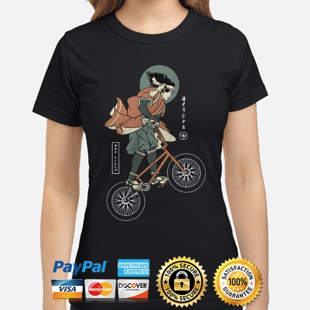 BMX bike Samurai ladies shirt