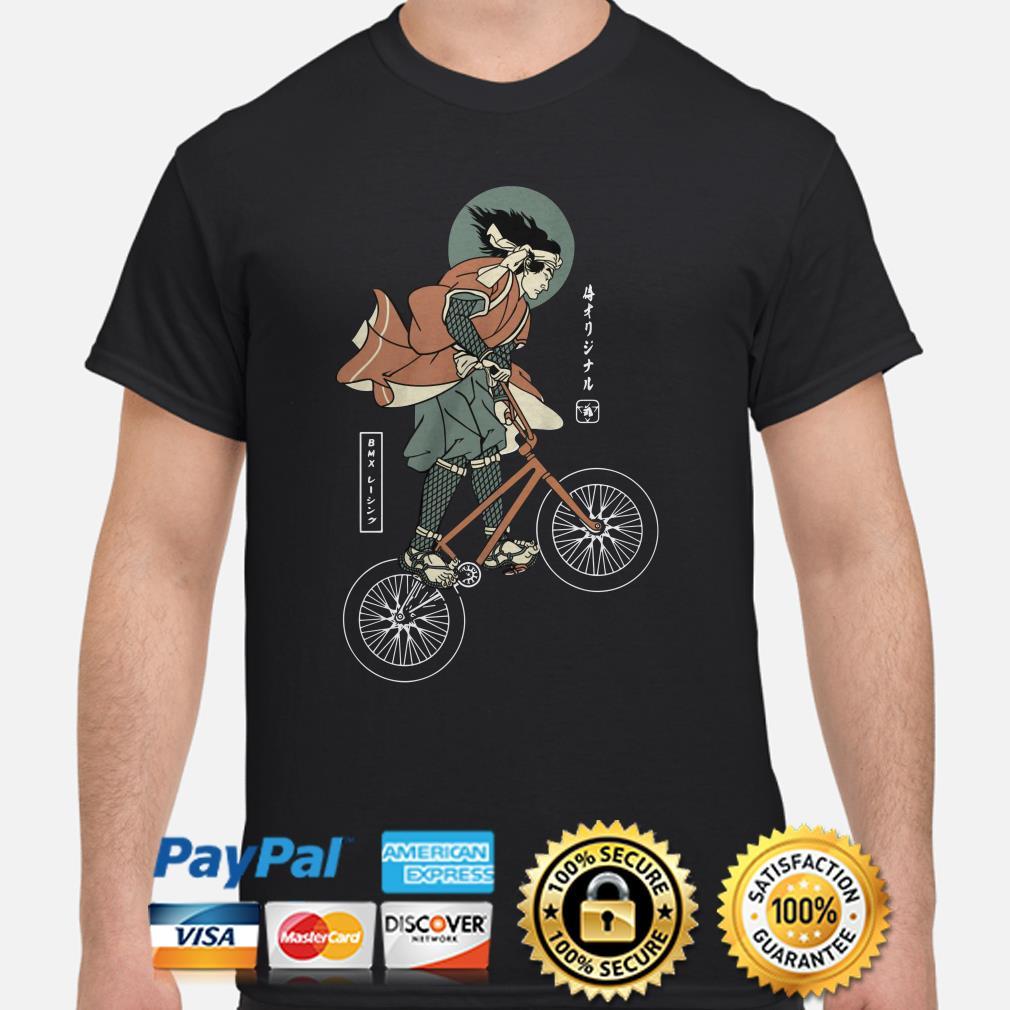 BMX bike Samurai shirt