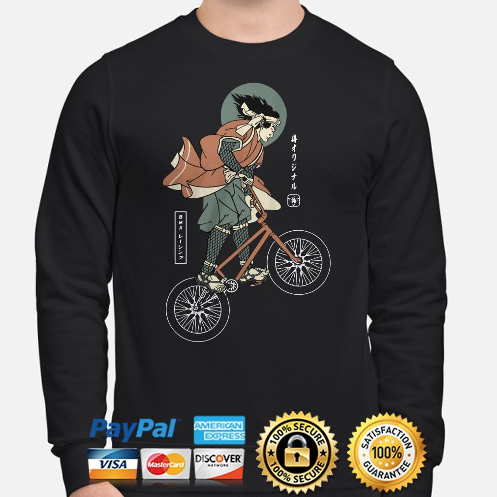 BMX bike Samurai sweater
