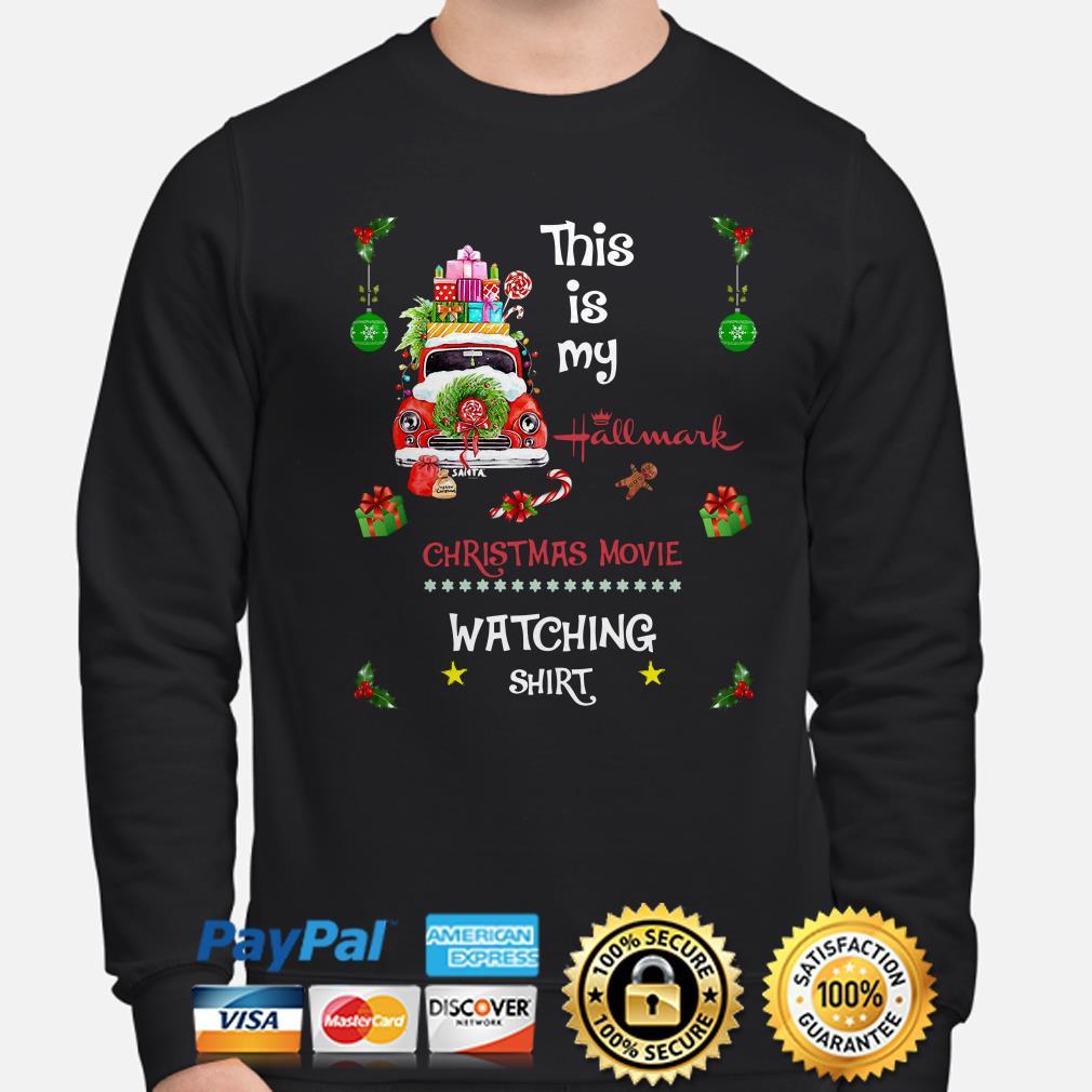 Car this is my Hallmark Christmas movie watching sweater