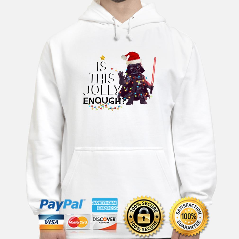 Darth Vader is this jolly enough Christmas hoodie