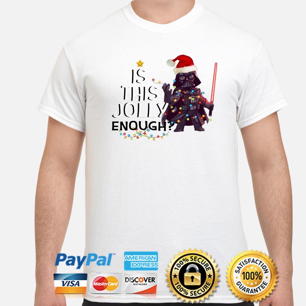 Darth Vader is this jolly enough Christmas shirt