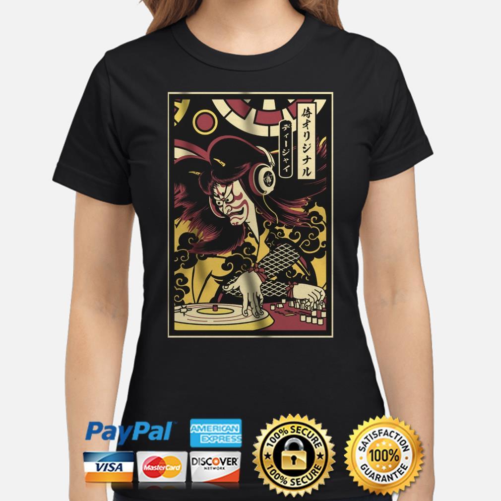 DJ Samurai ladies shirt