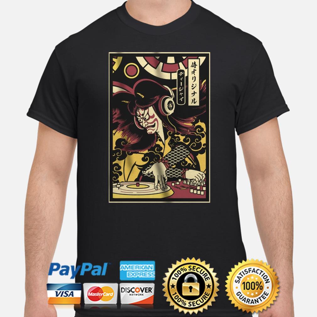 DJ Samurai shirt