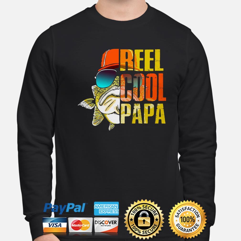 Fish Reel Cool Papa sweater