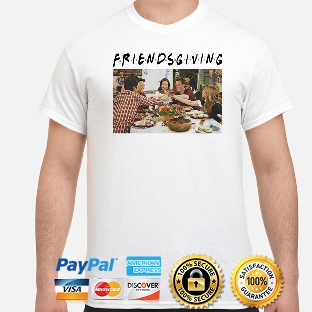 Friendsgiving Thanksgiving friends TV show shirt