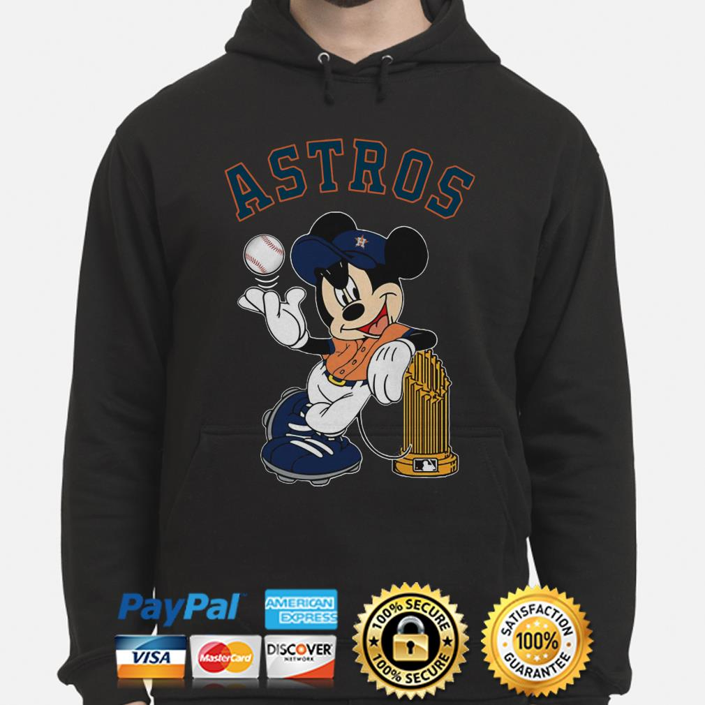 Mickey Houston Astros hoodie