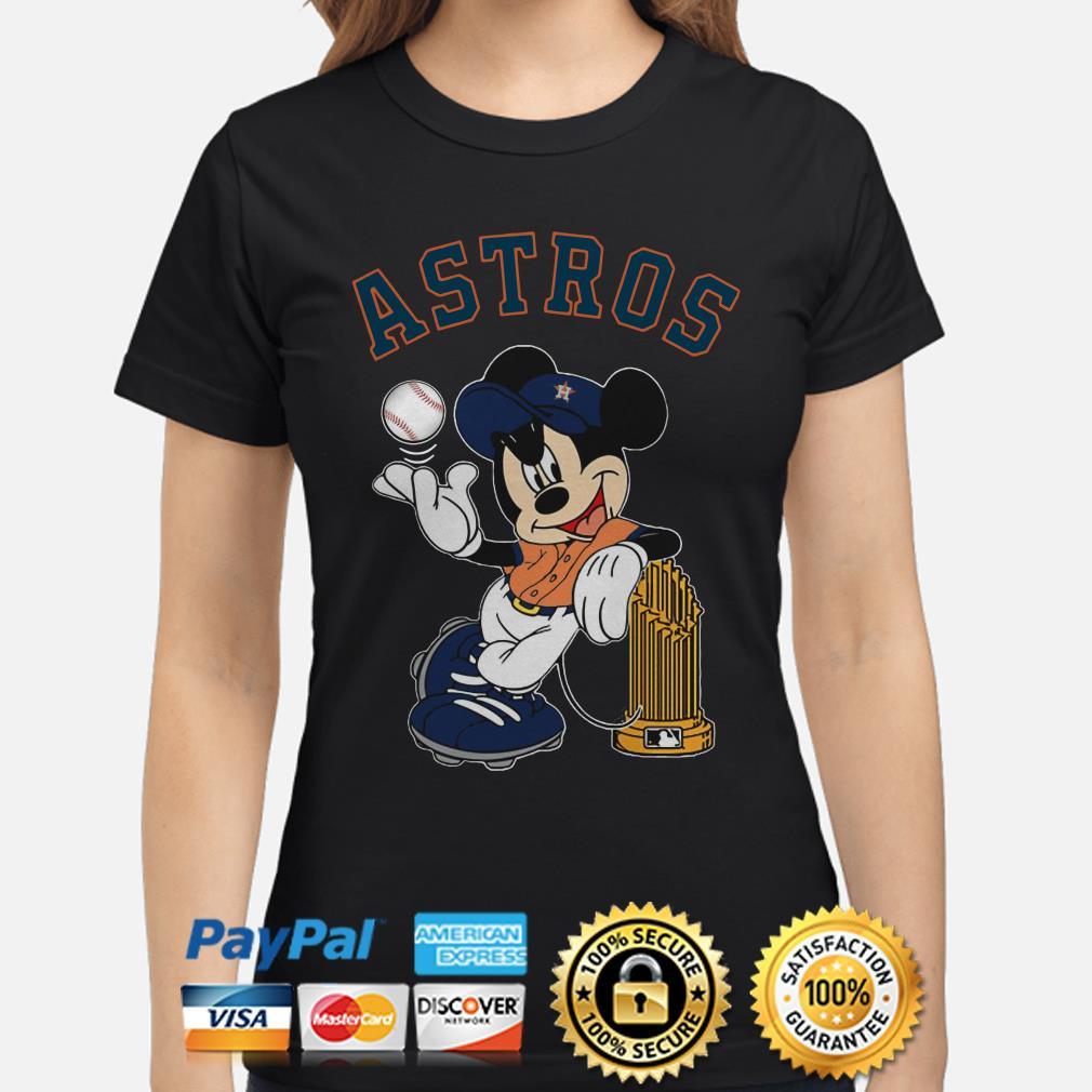 Mickey Houston Astros ladies shirt