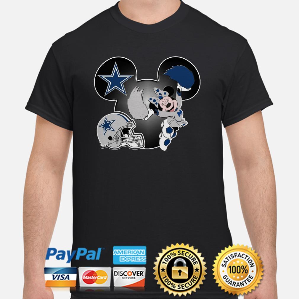 Mickey Mouse Dallas Cowboys shirt