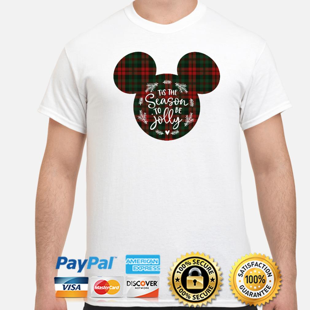 Mickey Tis the Season to be Jolly Christmas shirt