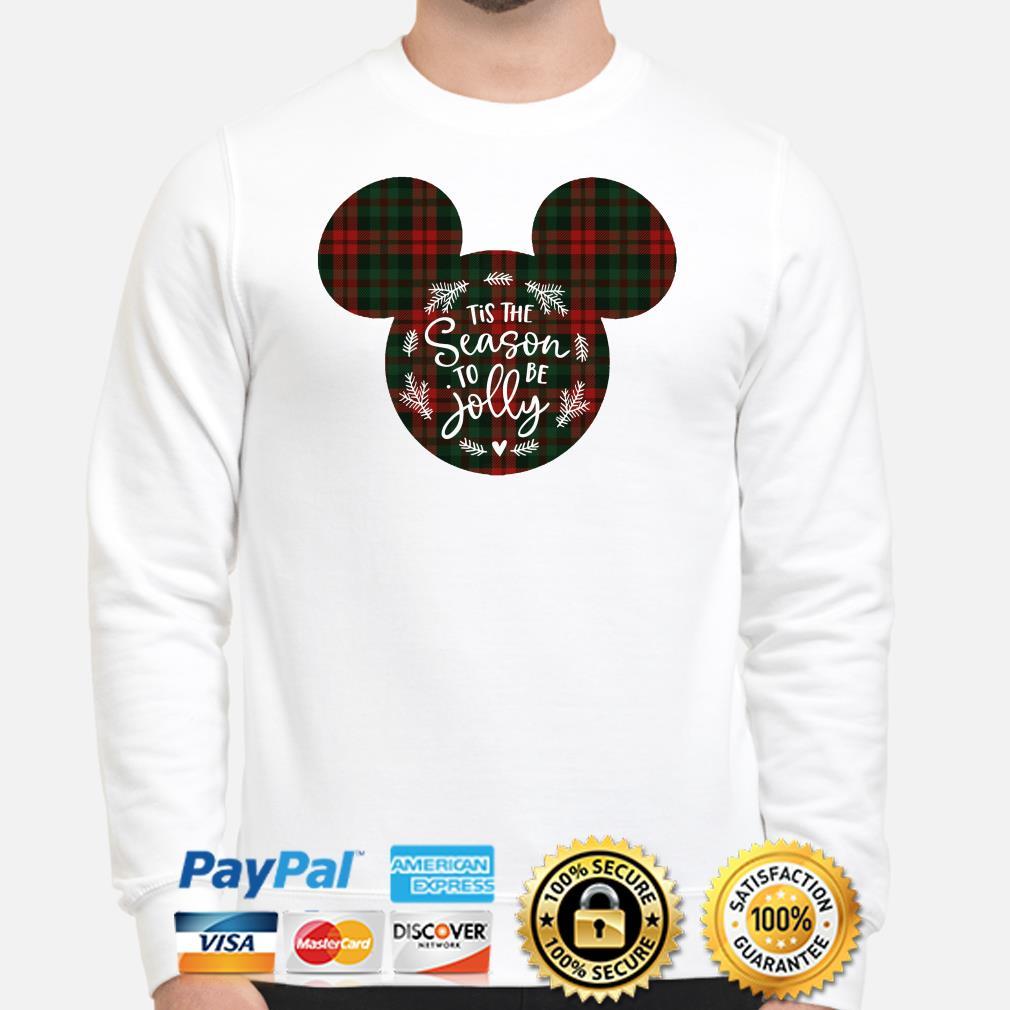 Mickey Tis the Season to be Jolly Christmas sweater