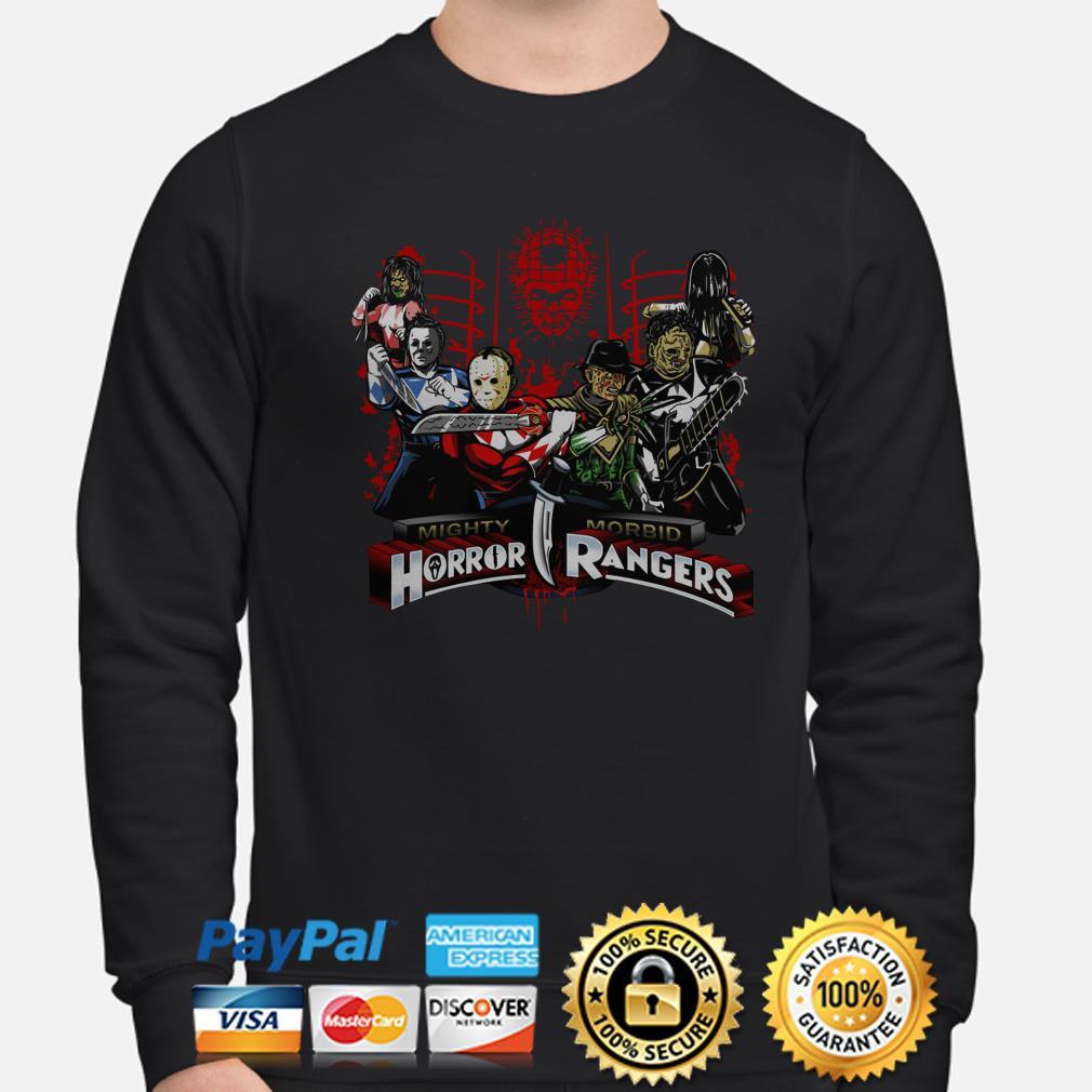 Mighty Morbid Horror Rangers sweater