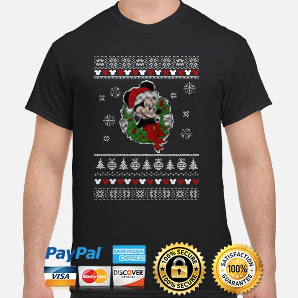 Santa Claus Mickey Ugly Christmas shirt
