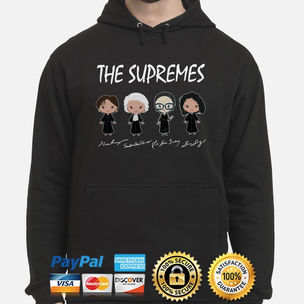 The Supremes Chibi signature hoodie