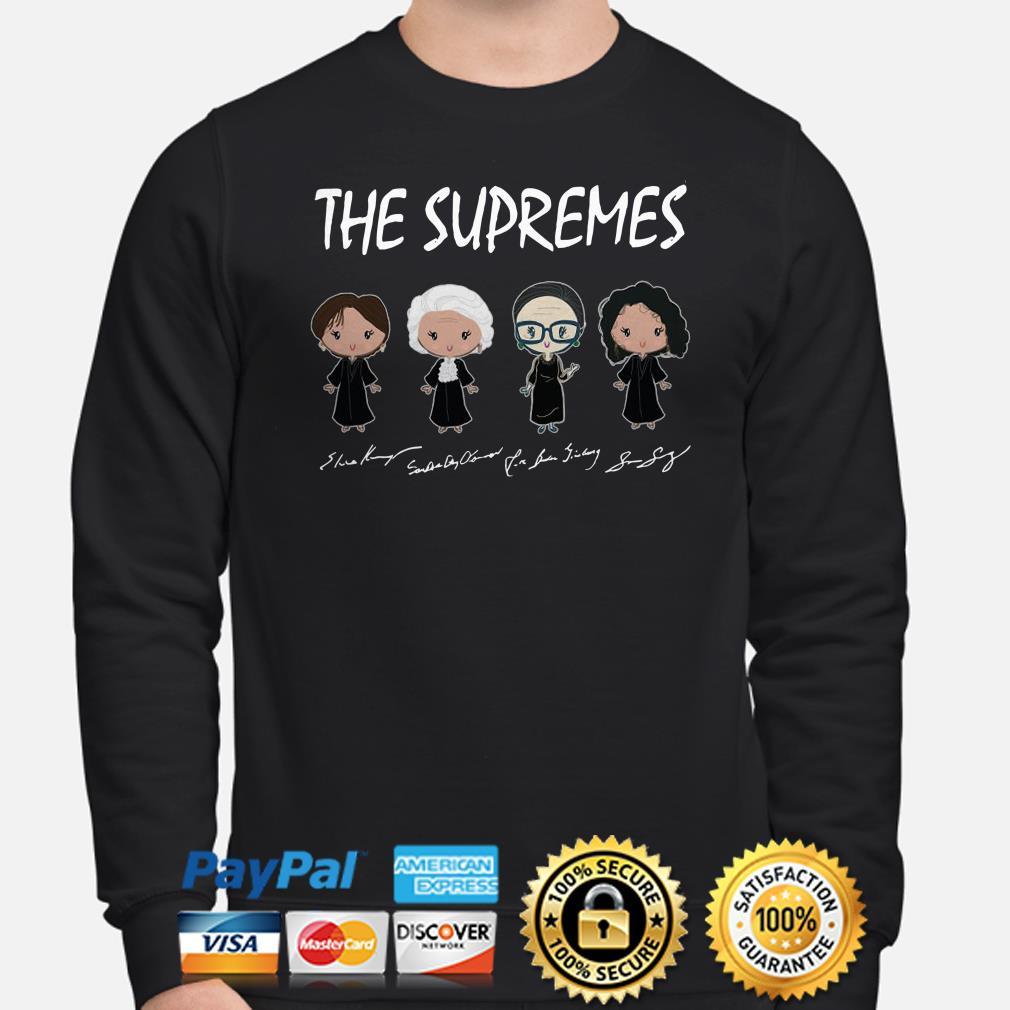 The Supremes Chibi signature sweater