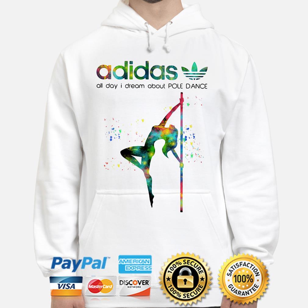 Adidas all day I dream Pole dance hoodie