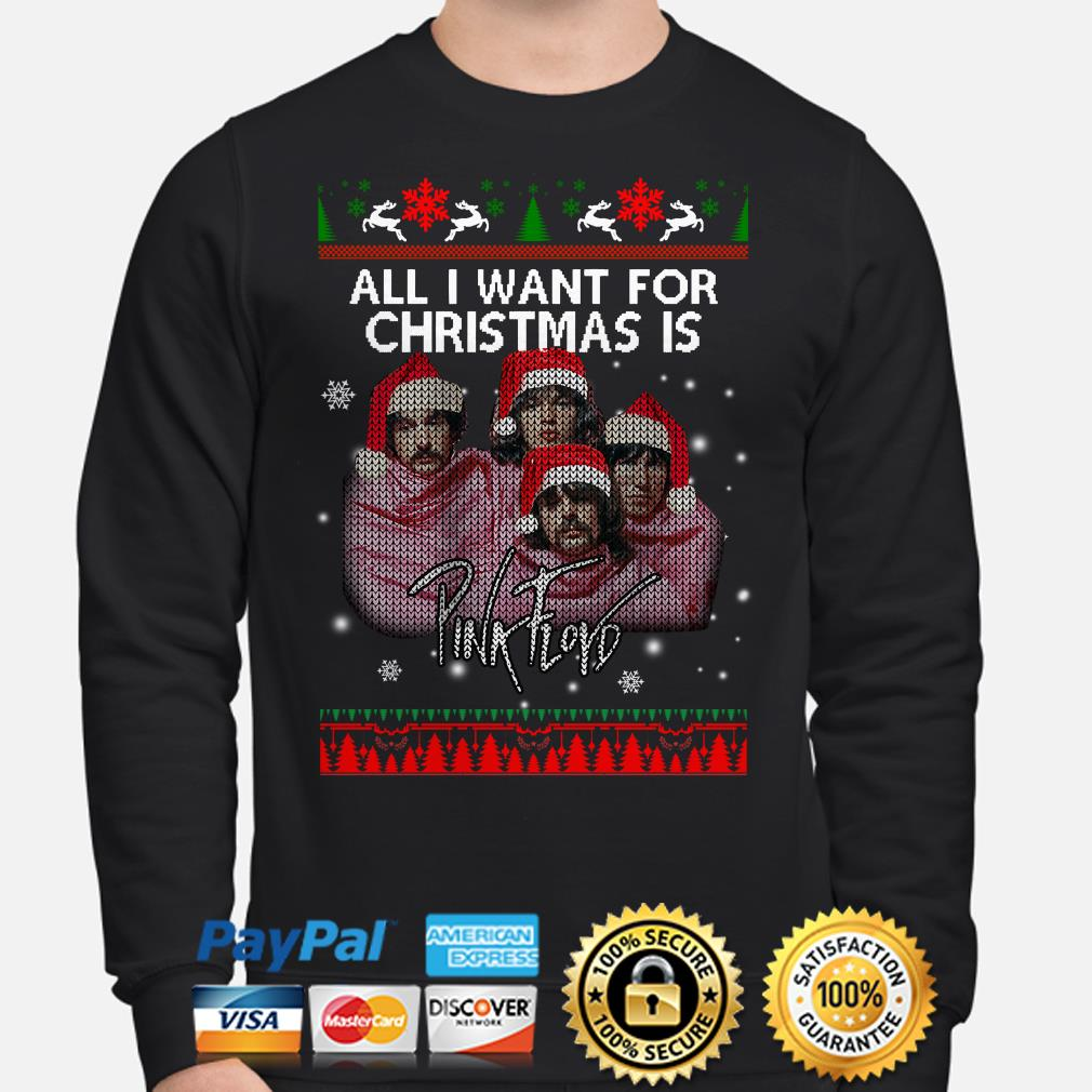 All I want for Christmas is Pink Floyd ugly sweater