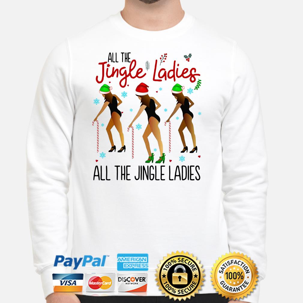 All the Jingle ladies Christmas sweater