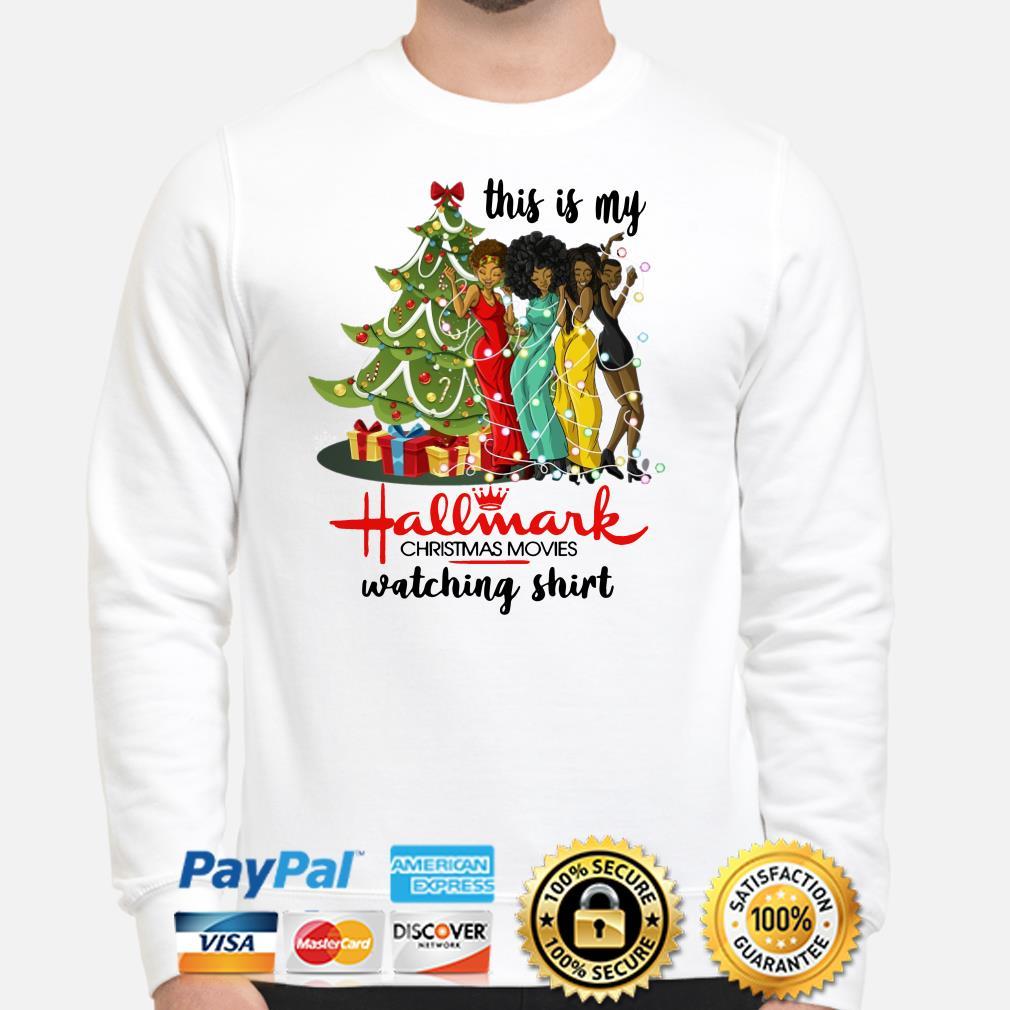Black girls this is my Hallmark Christmas movies watching Sweater