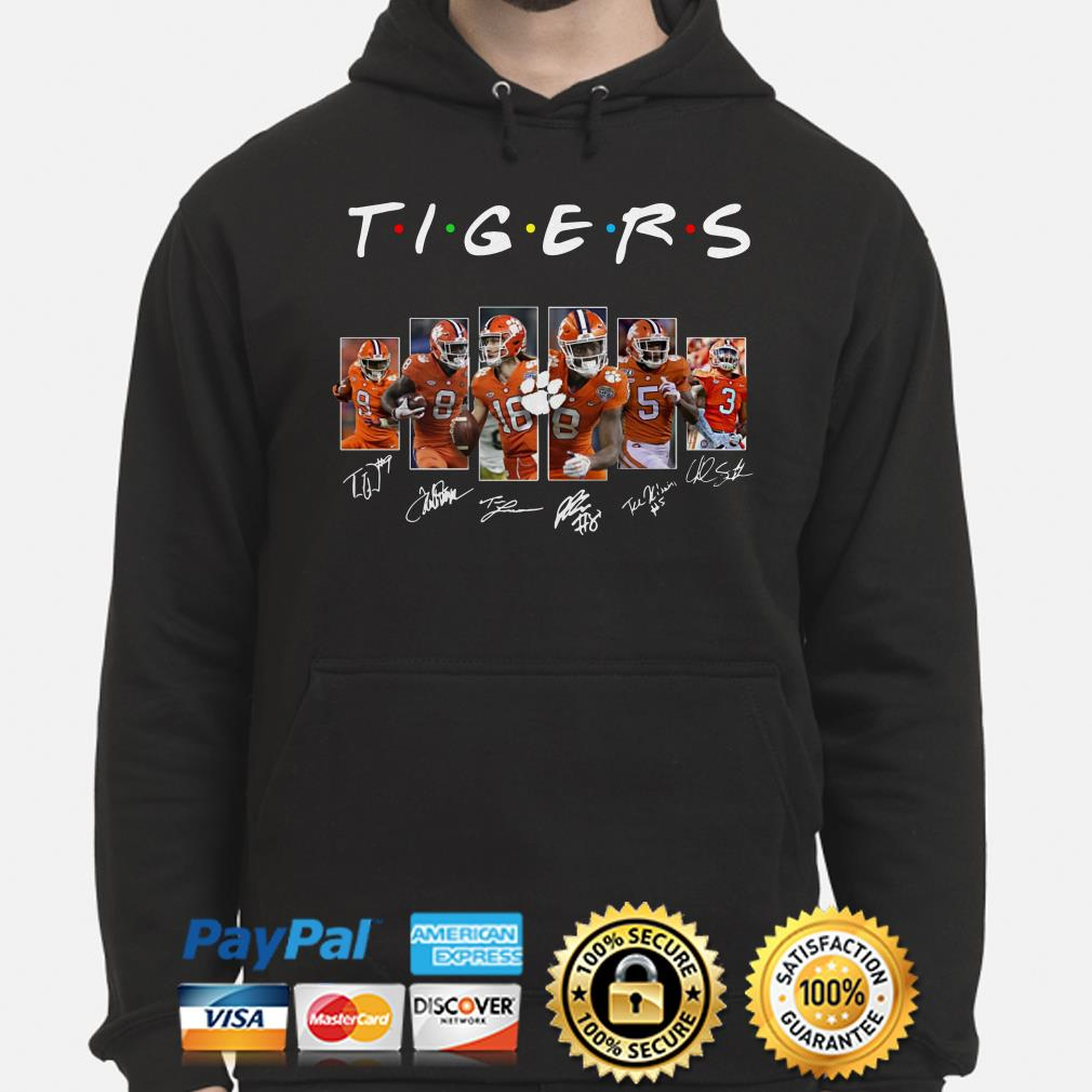 Clemson Tigers Players signature Friends hoodie