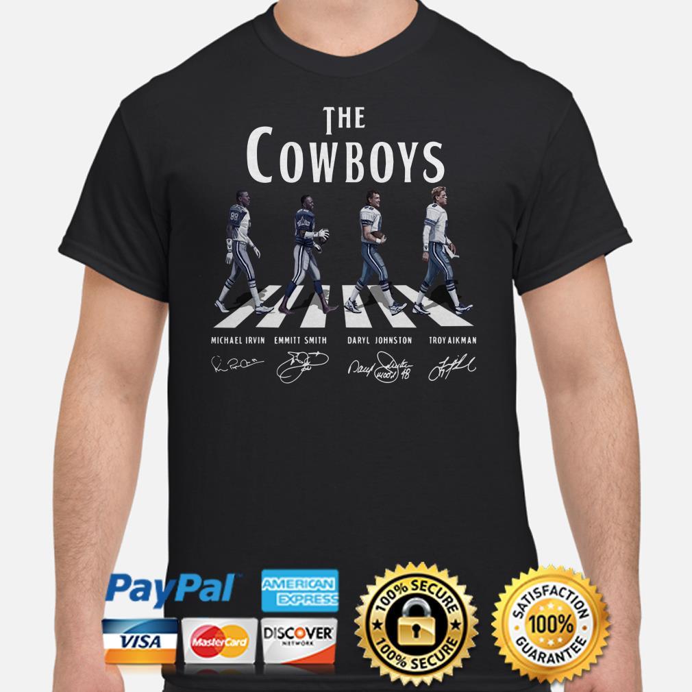 Dallas Cowboys the Cowboys Abbey road signature shirt